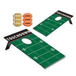 Picnic Time 769-00-901-000-0 Bean Bag Throw (Football Field) - Football Design