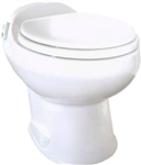 Thetford 19769 Low Profile Aria Deluxe II Toilet Bone