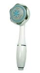 Relaqua AS-5M/C 5-Function Massage Shower Head - White