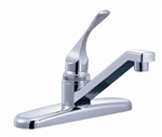 Relaqua AK-120RC Single Lever RV Kitchen Faucet, Chrome Finish