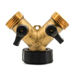 Camco 20123 Brass Water Shut-Off Y Valve