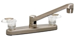 Catalina PF221401 Two Handle Kitchen Faucet, Brushed Nickel