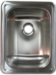 LaSalle Bristol 13RSM1713LL Single Stainless Steel Kitchen Sink