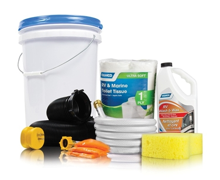 Camco 44760 RV Starter Kit Bucket - Level I