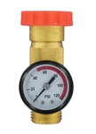 Valterra A01-1124VP Lead Free Water Regulator Gauge Combo