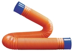 Prest-O-Fit 1-0067 Blueline 10' Duraform Sewer Hose