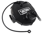 "Valterra T1020-1 3"" Black Termination Cap With Bayonet Hook & Hose"