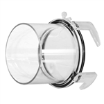 Prest-O-Fit 1-0008 BlueLine Clear Hose Adapter