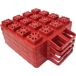 Valterra A10-0916 Stackers EZ Leveler Jack Pads - 4 Pack
