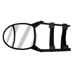 CIPA 11953 Dual-View Adjustable Clip-On Tow Mirror
