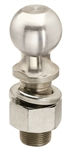 "Reese Zinc Hitch Ball, 2"" x 1-1/4"" x 2-3/8""; 8,000 lb"