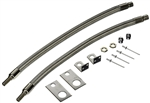 "Wheel Masters 8002 Stainless Steel Valve Extenders 16"" to 19.5"" Wheels Hub Mount"