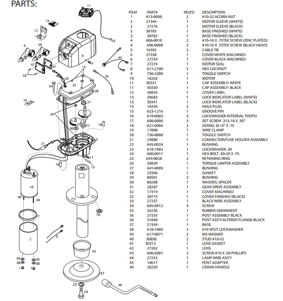 kwikee rv step wiring diagram