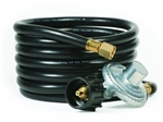 Camco Olympian Heater Low Pressure Propane Regulator - 12' Hose