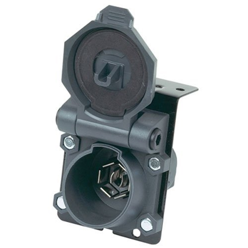 Hopkins 48480 Endurance 7-Way Blade Style Trailer Connector Socket