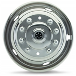 "Dicor V160G4 Versa-Line SS Wheel Cover Set 6"" to 16.5"", 1973-02, 2 & 4 WD, 8 Lug"