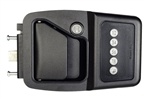 Bauer EM AlSentis Electric RV Keyless Door Lock - Right Hand