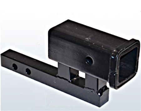 B-Dawg BD-HR2-3 Class II to Class III Hitch Riser and Adapter - 3-3/4""
