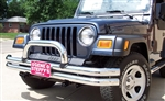 Blue Ox Base Plate BX1120 Jeep Wrangler 97 - 02 Double Tube Bumper
