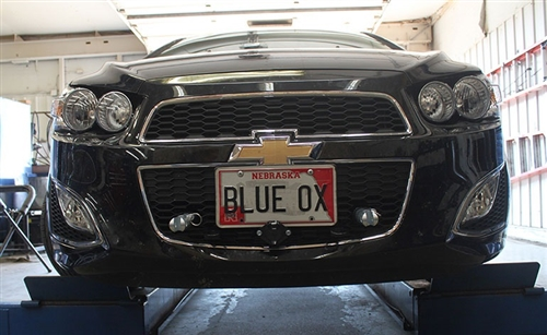 Chevy Sonic Blue Ox Base Plate