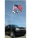 Flagpole To Go 20' Double Flag Flagpole