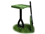 MTM JM-1-11 Jammit Forest Green Personal Outdoor Table