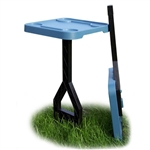 MTM JM-1-44 Jammit Dove Blue Personal Outdoor Table