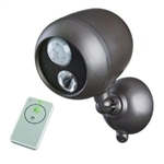 Mr Beams LED Wireless Remote Control Outdoor Spotlight