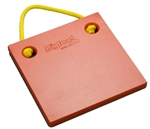 "Bigfoot P121210-SO RV Outrigger Pad - 12"" x 12"" x 1"" - Safety Orange"