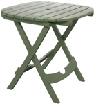 Adams 8550-01-3731 Quik-Fold Cafe Table - Sage