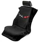 Corvette C5 Seat Armour Black SA100COR5B