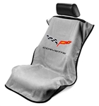 Corvette C6 Seat Armour Grey SA100COR6G