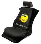 Jeep Smiley Face Seat Armour Black SA100JEPSFB