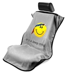 Jeep Smiley Face Seat Armour Grey SA100JEPSFG