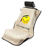 Jeep Smiley Face Seat Armour Tan SA100JEPSFT