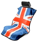 Mini British Flag Seat Armour RED/WHT/BLUE SA100MINIRWB