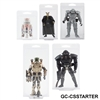 Galaxy Collectibles STARTER PACK Clamshell Action Figure Protector Cases, Assorted Sizes