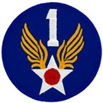 VIEW 1st Air Force Patch