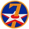 VIEW 7th AF Patch
