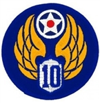 VIEW 10th Air Force Patch