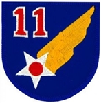 VIEW 11th Air Force Patch