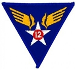 VIEW 12th Air Force Patch