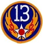 VIEW 13th Air Force Patch