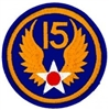 VIEW 15th Air Force Patch