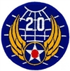 VIEW 20th AF Patch