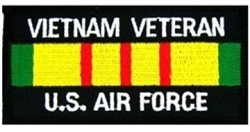 VIEW USAF Vietnam Veteran Patch