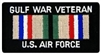 VIEW USAF Gulf War Veteran Patch