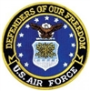 VIEW USAF Defenders Of Freedom Back Patch