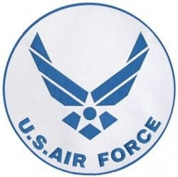 VIEW USAF Logo Back Patch