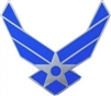 VIEW USAF Logo Lapel Pin